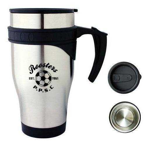 M21 475ml Director Personalised Stainless Travel Mugs With Stainless Inner (Double Wall)