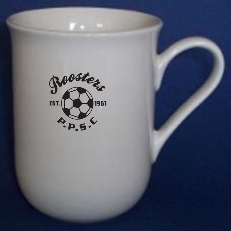 MGP004W 280ml Belle Promotional Porcelain Coffee Mugs