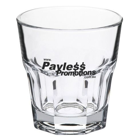 GLT752694 237ml Casablanca Rock Old Fashioned Branded Tumblers