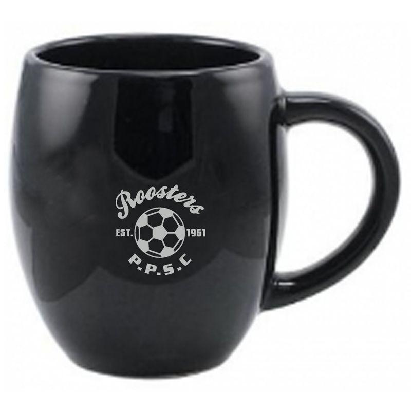 MG1601C 440ml Coloured Barrel Printed Coffee Mugs