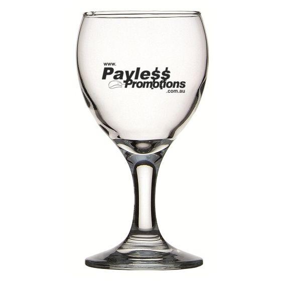 GLWG744015 160ml Crysta III Branded Wine Glasses