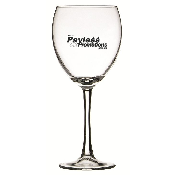 GLWG744829 420ml Atlas Burgundy Custom Wine Glasses