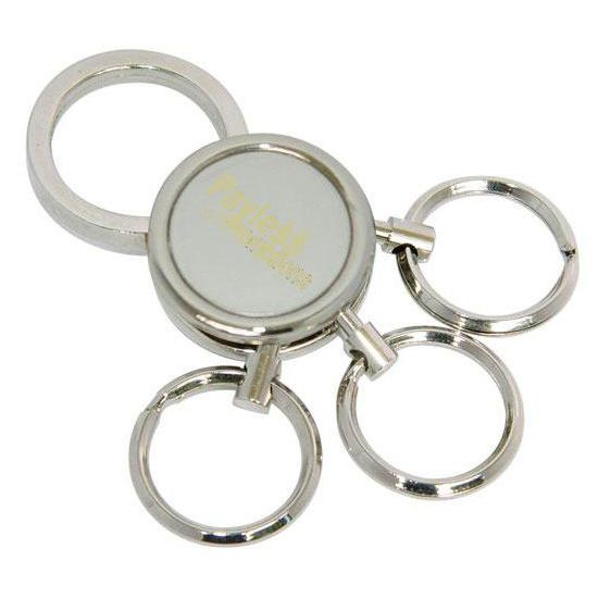 K3 Hub Style Promotional Metal Keyrings With Gift Box