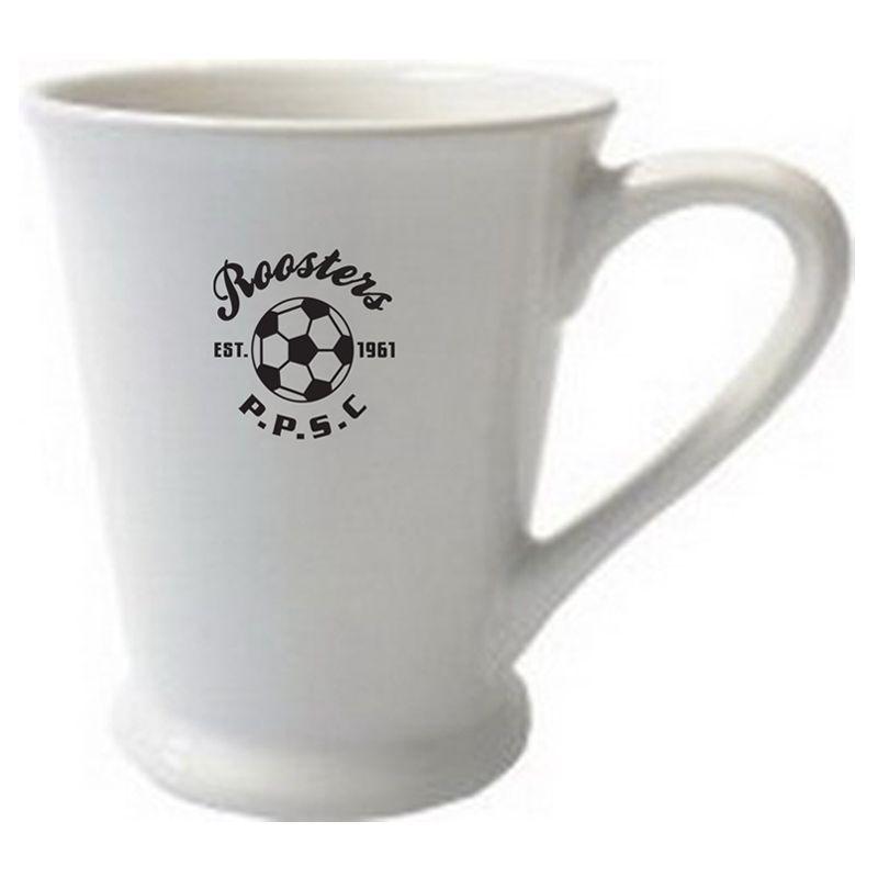 MG99004W 280ml White Valentia Promotional Coffee Mugs