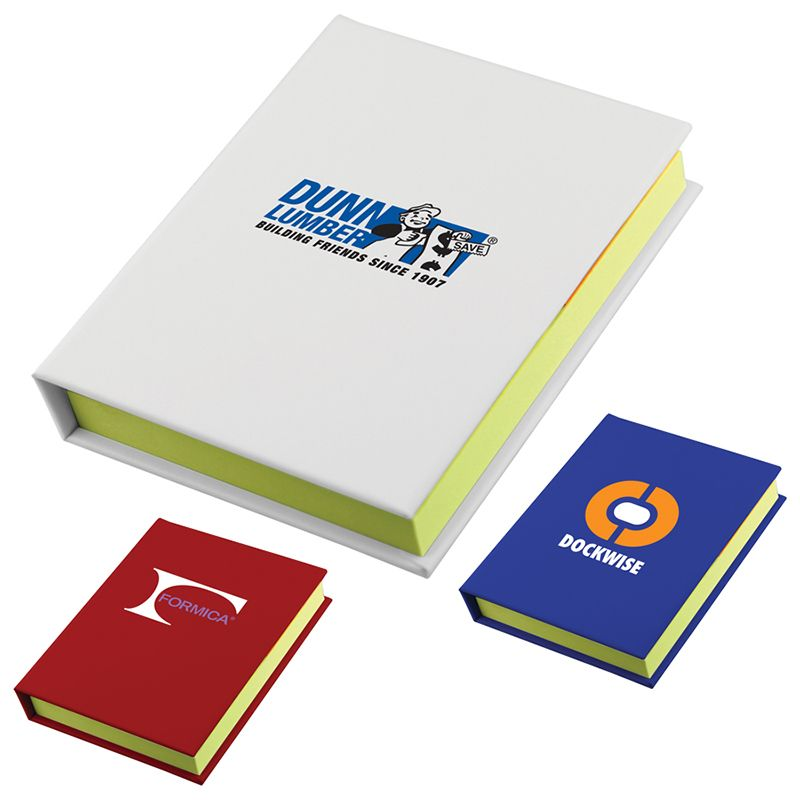 T943 Adhesive Promotional Notepads With Adhesive Notes