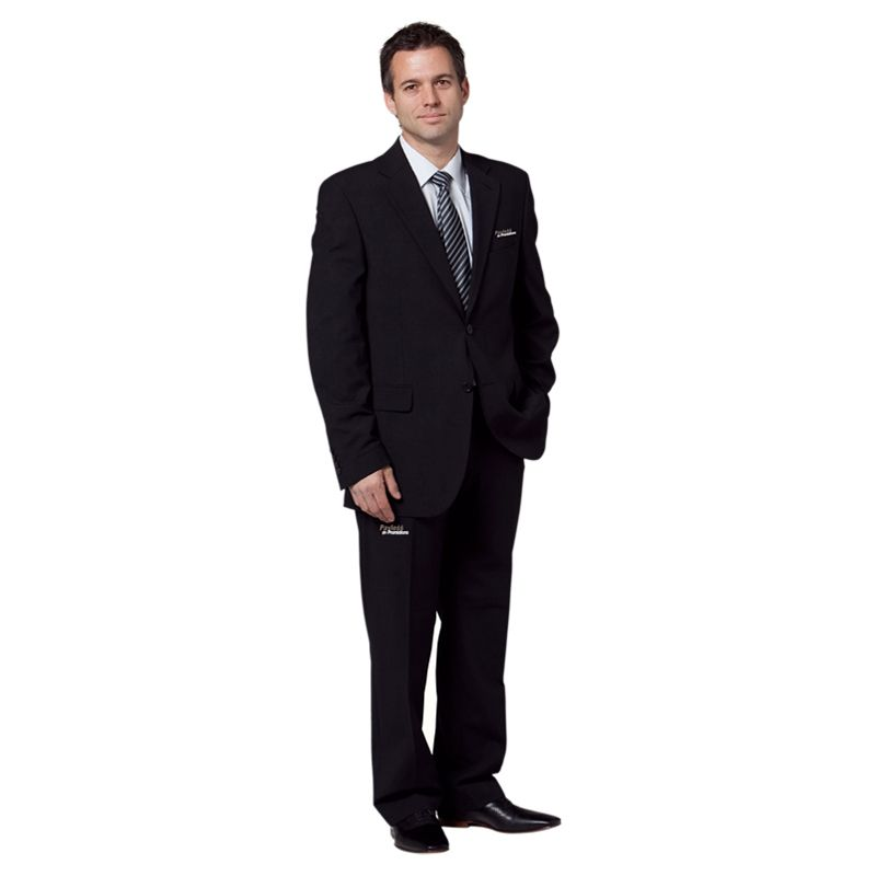 M9300 Wool Blend Slacks With Stretch