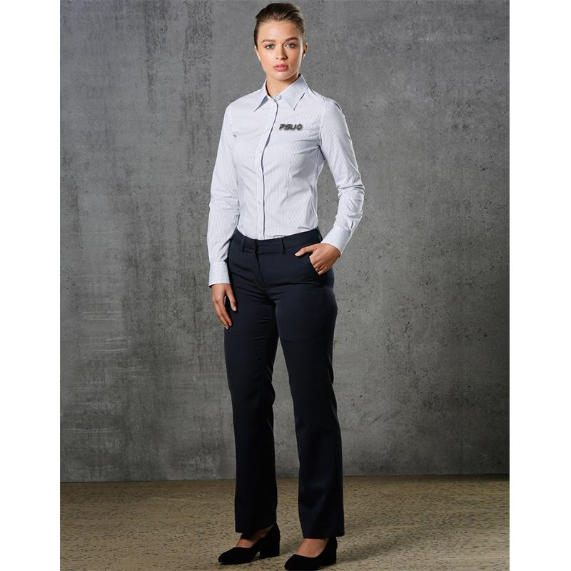 WP02 Ladies Permanent Press Personalised Work Wear Pants