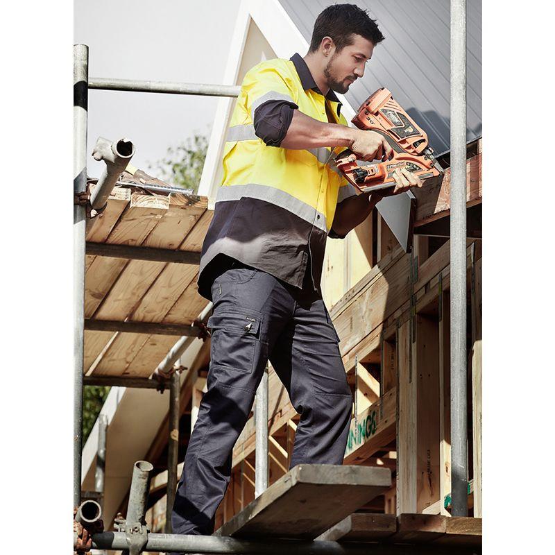 ZP505 LightWeight Drill Cargo Logo Workwear Pants
