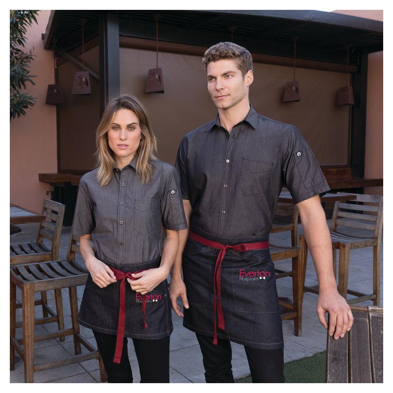AHS01 Chef Works Berkeley Waist Hospitality Aprons