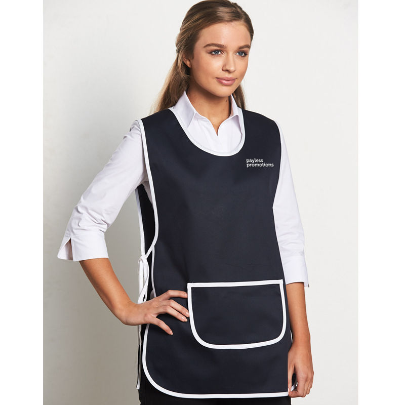 AP05 Two Tone Smock Custom Aprons