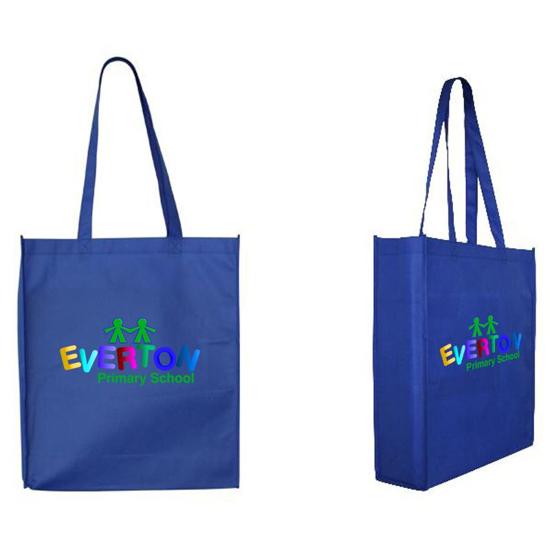 B08 Large Promotional Tote Bags With Gusset - (36cm x 41cm x 11cm)
