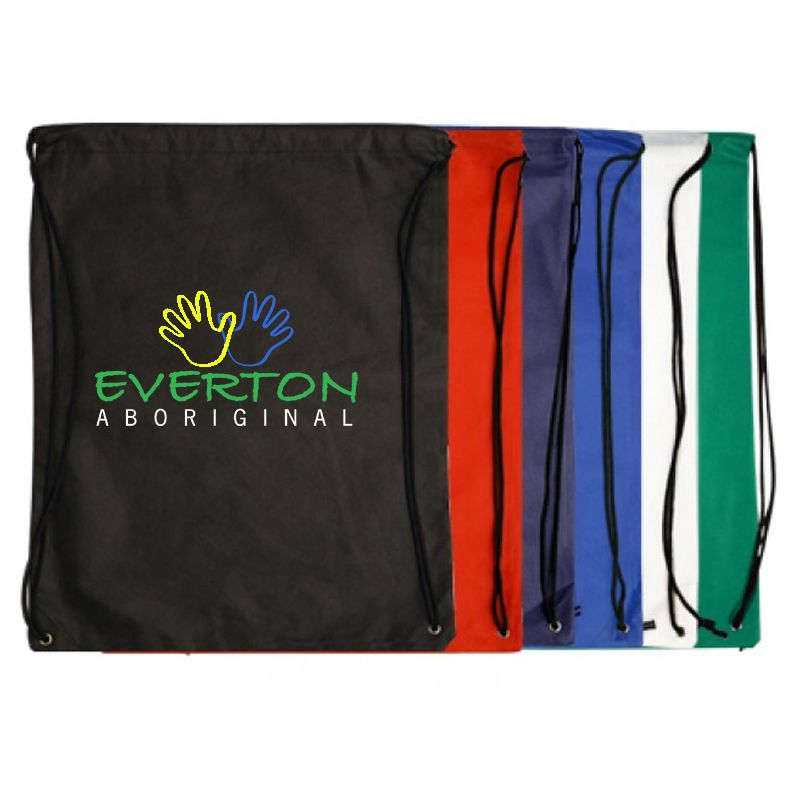 B09II Non-Woven Drawstring Embroidered Back Packs