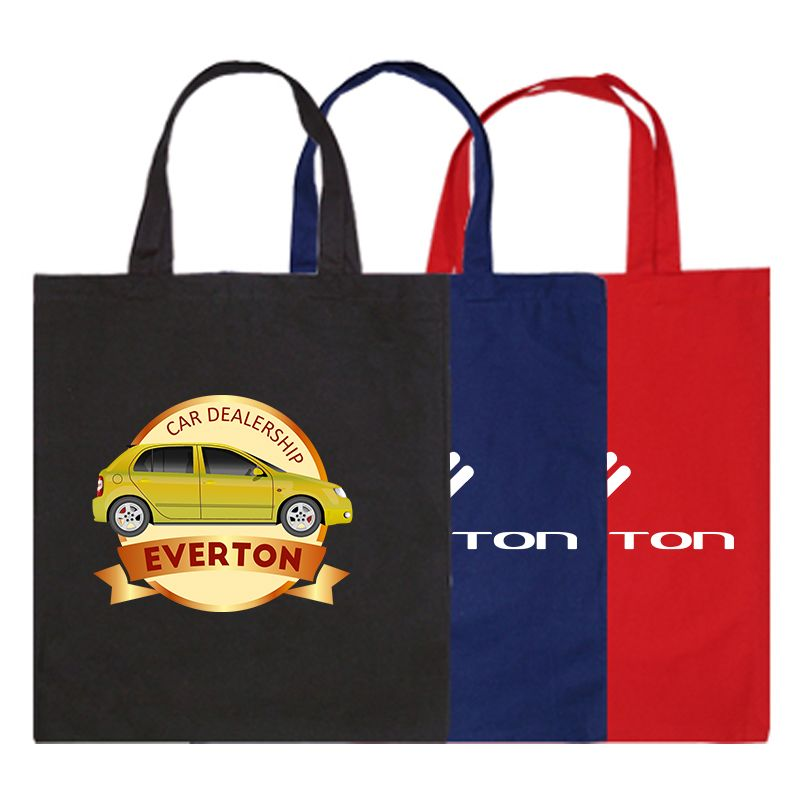 B13 Colour Short Handle Promotional Tote Bags - (38cm x 42.5cm)