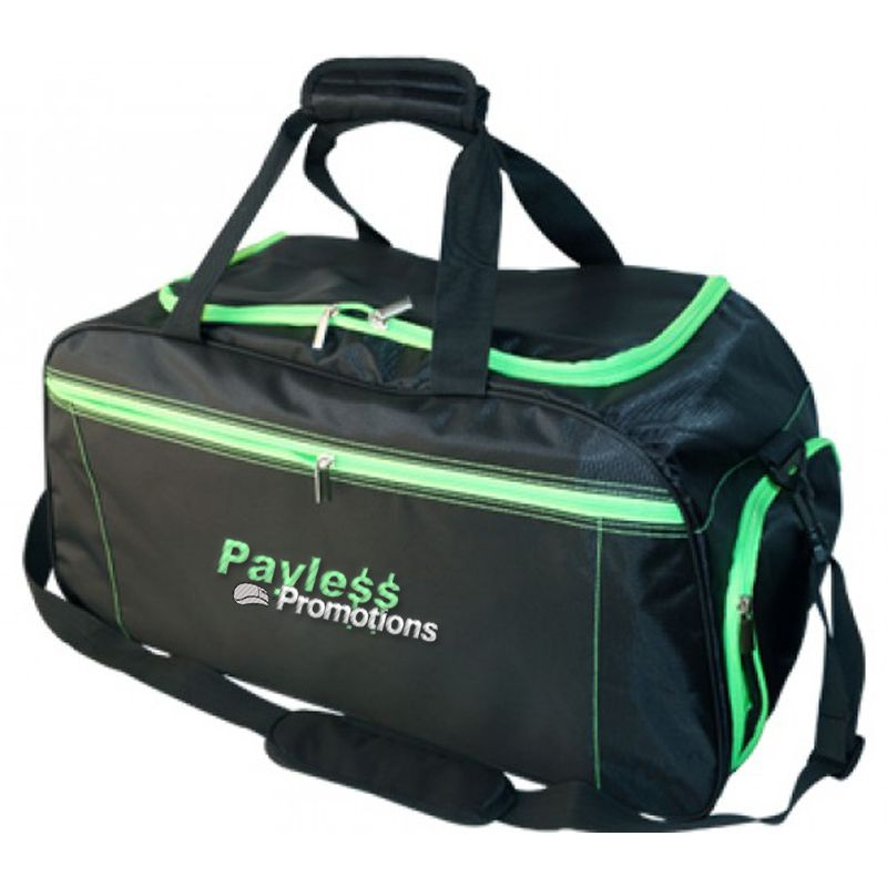 B27 Season Printed Sports Bags With PVC Backing