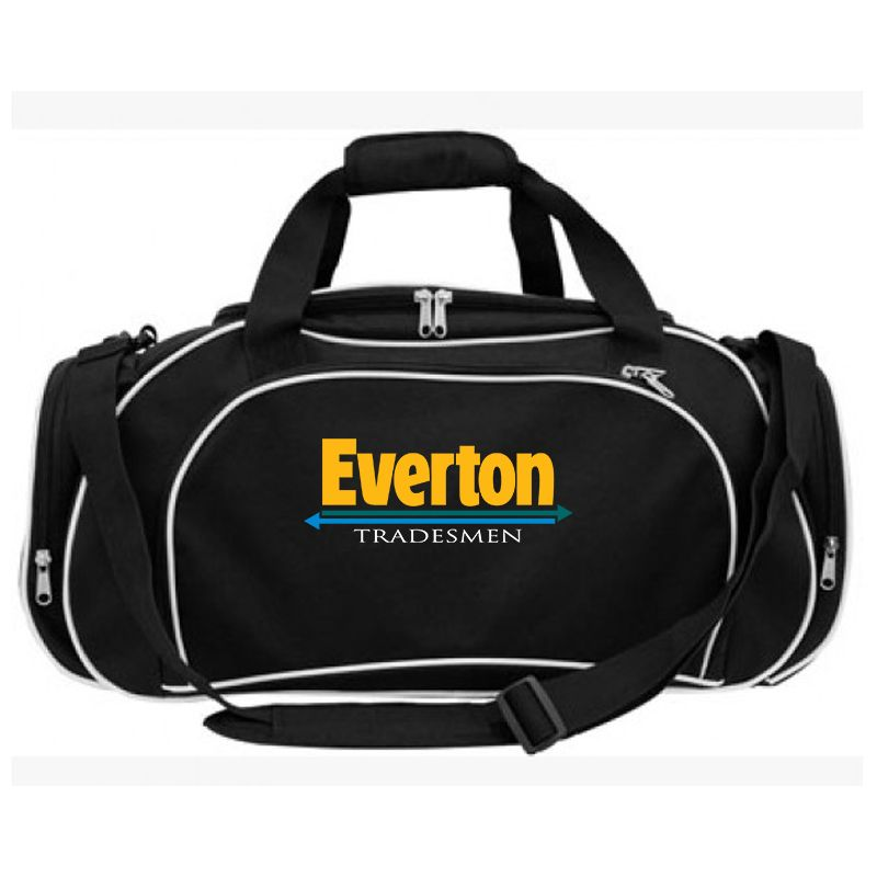 B32 Deluxe Embroidered Sports Bags With PVC Backing