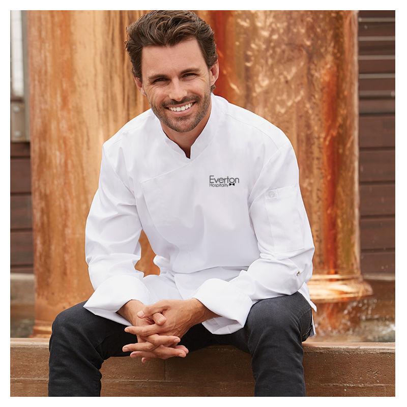 BCMC010 Lansing Logo Chefs Jackets