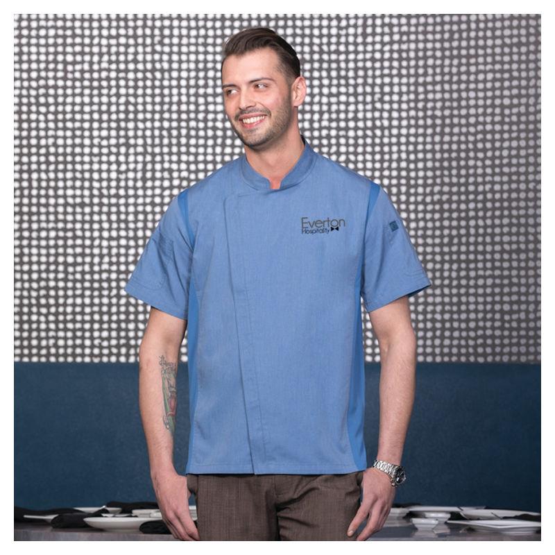 BCSZ009 Springfield Zipper Custom Chefs Jackets