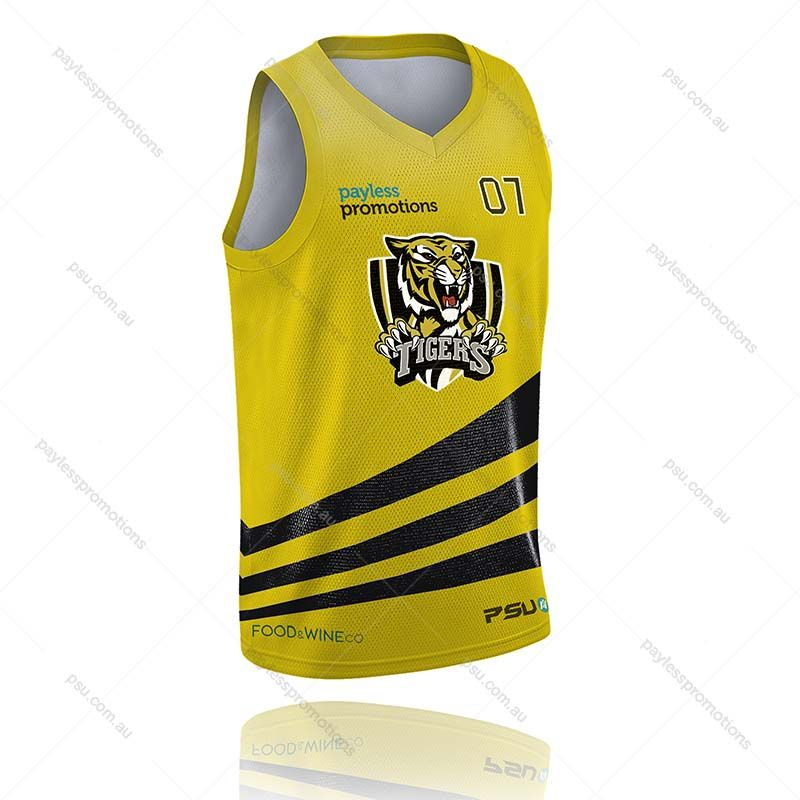 BS3-K Kids Full-Custom Sublimation Muscle-Cut Basketball Tops - S Series