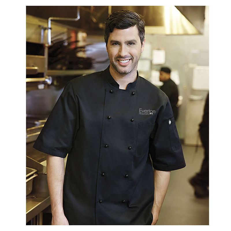 CBBS Canberra Basic Logo Chefs Jackets
