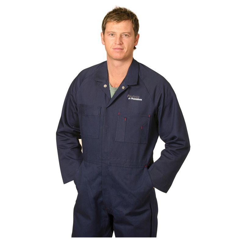 WA08 Coverall Personalised Overalls - Stout