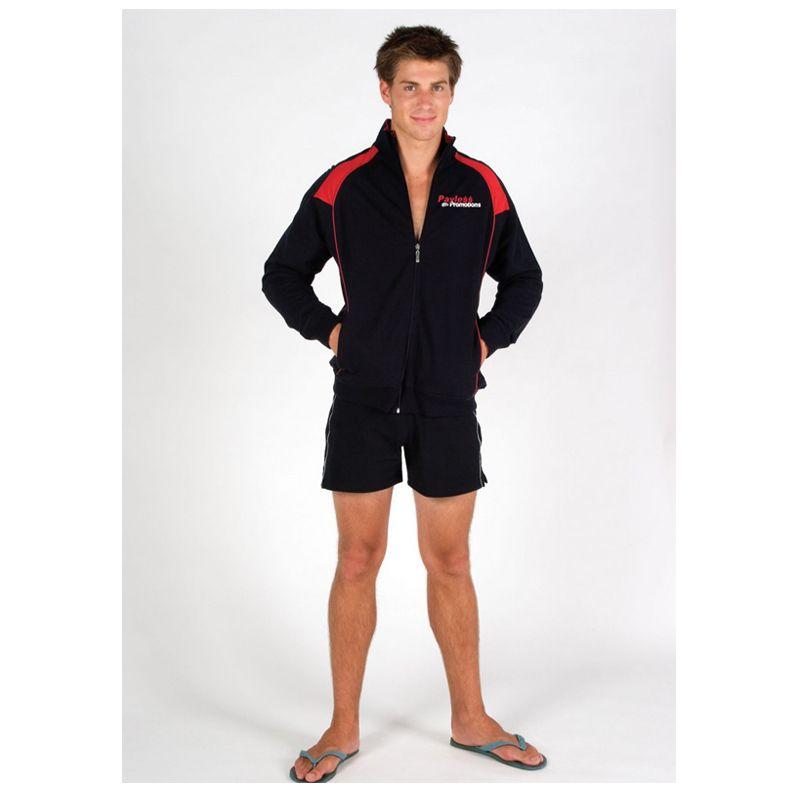 F400HZ Cotton Rich Front Zip Branded Track-Suit Jackets