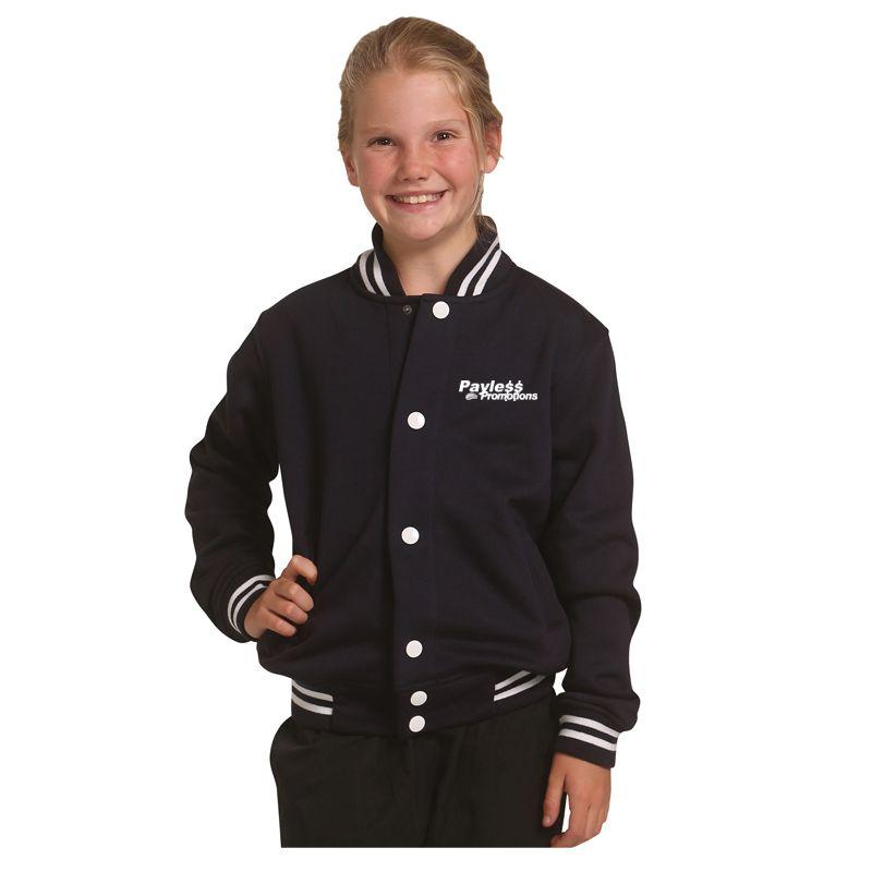 FL11K Kids Cotton Rich Custom Varsity Jackets
