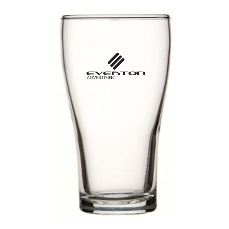 GLBG240007 425ml Crowntuff Conical Promotional Beer Glasses