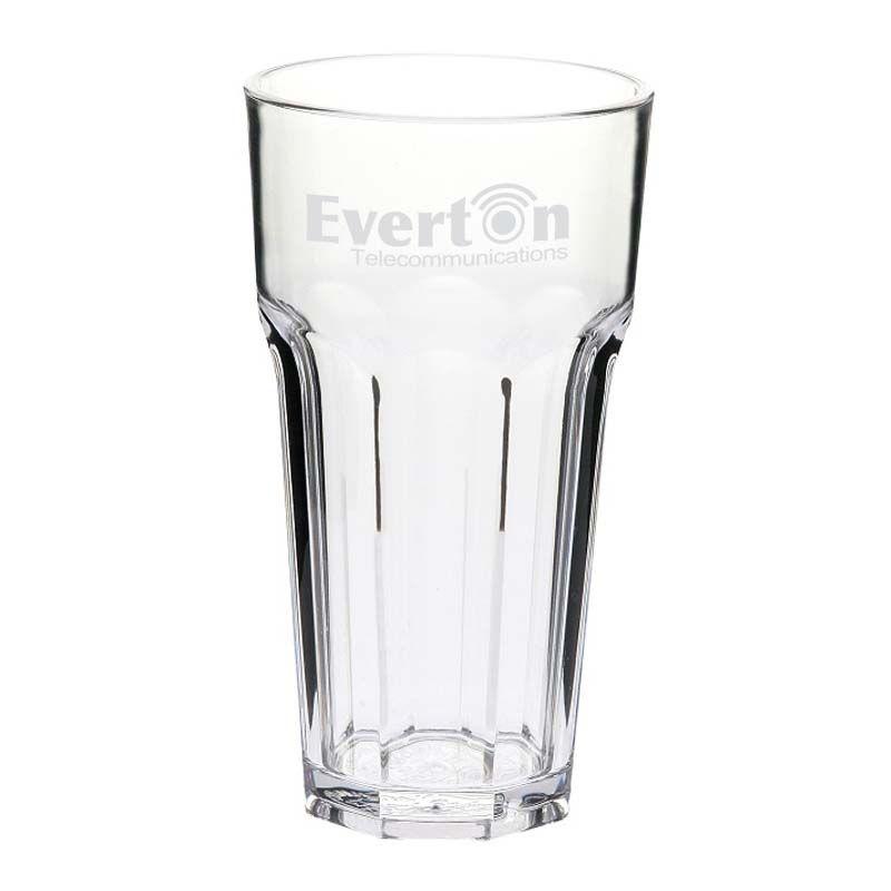 GLPC852706P 355ml Casablanca Branded Plastic Glasses