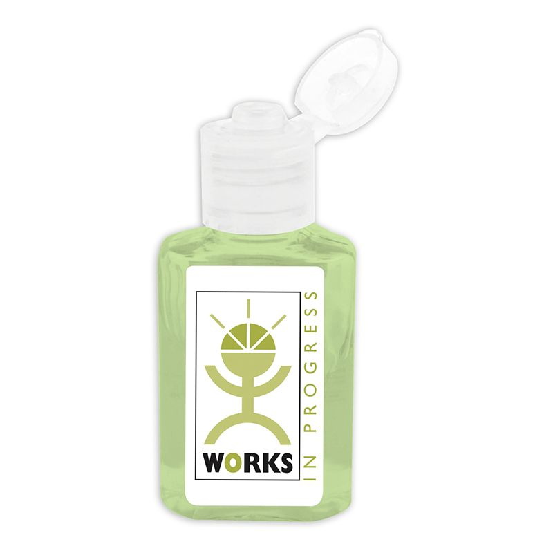 H306 30ml Unscented Squeeze Printed Hand Sanitizer