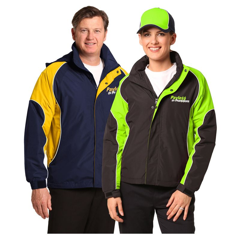 JK77 Arena Rip-Stop Embroidered Casual Jackets With Concealed Hood