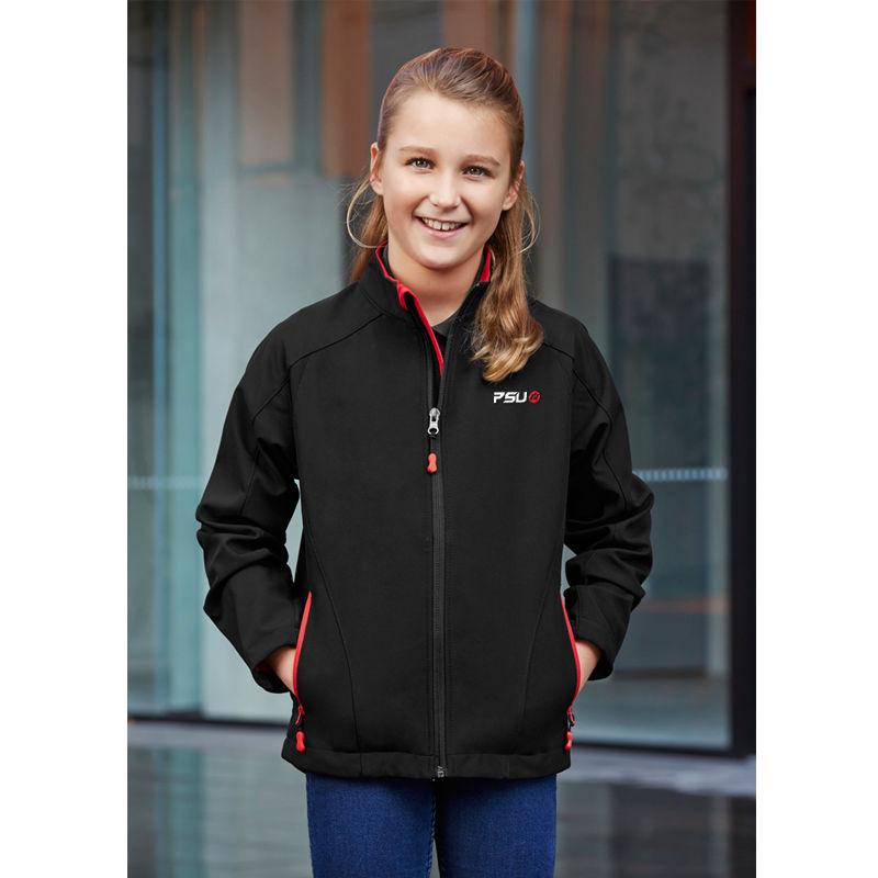 J307K Kids Geneva Printed Casual Jackets