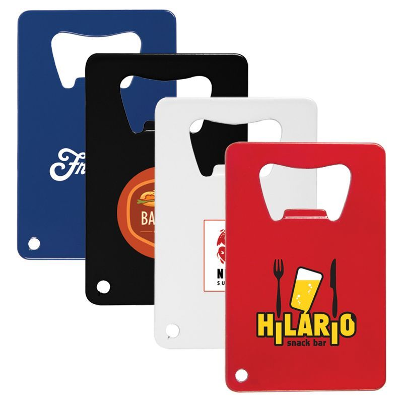 K278 Credit Card Promotional Bottle Openers