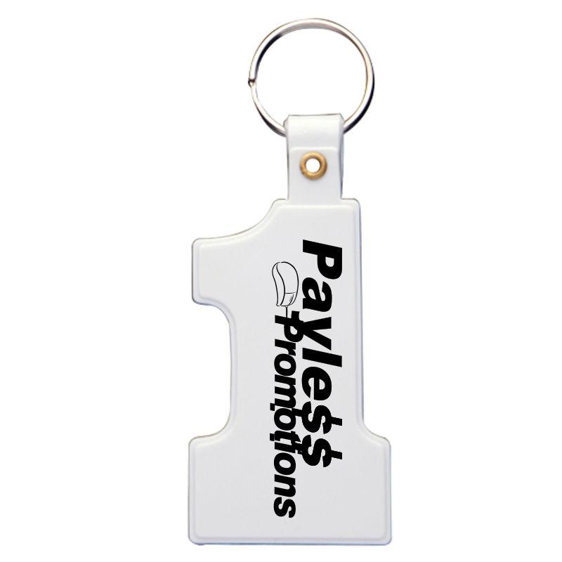 K34 Number Personalised Plastic Keyrings