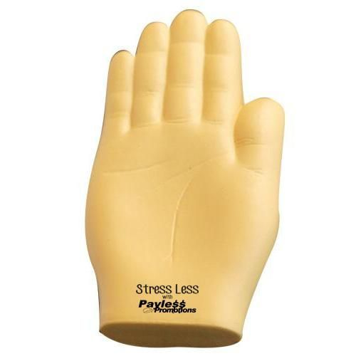 S211 Hand Personalised Body Parts Stress Balls