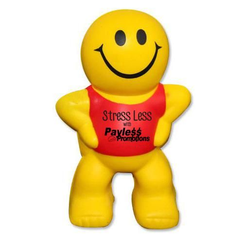 S52 Little Man Promotional People Stress Balls
