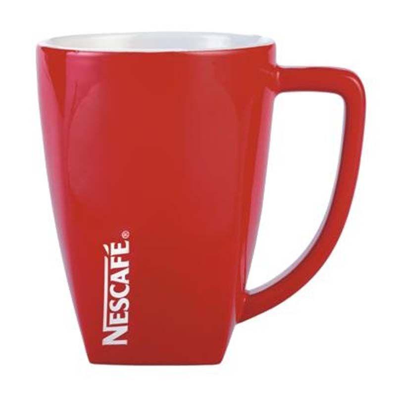 MG2688RW 280ml Red/White Rocco Promotional Coffee Mugs
