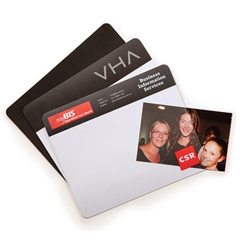 MM107A Fliptop (230 x 190mm) Promotional Mouse Pads With Rubber Base