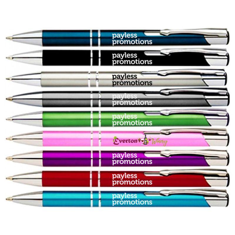 P14 Maddison (Matt) Metal Branded Pens