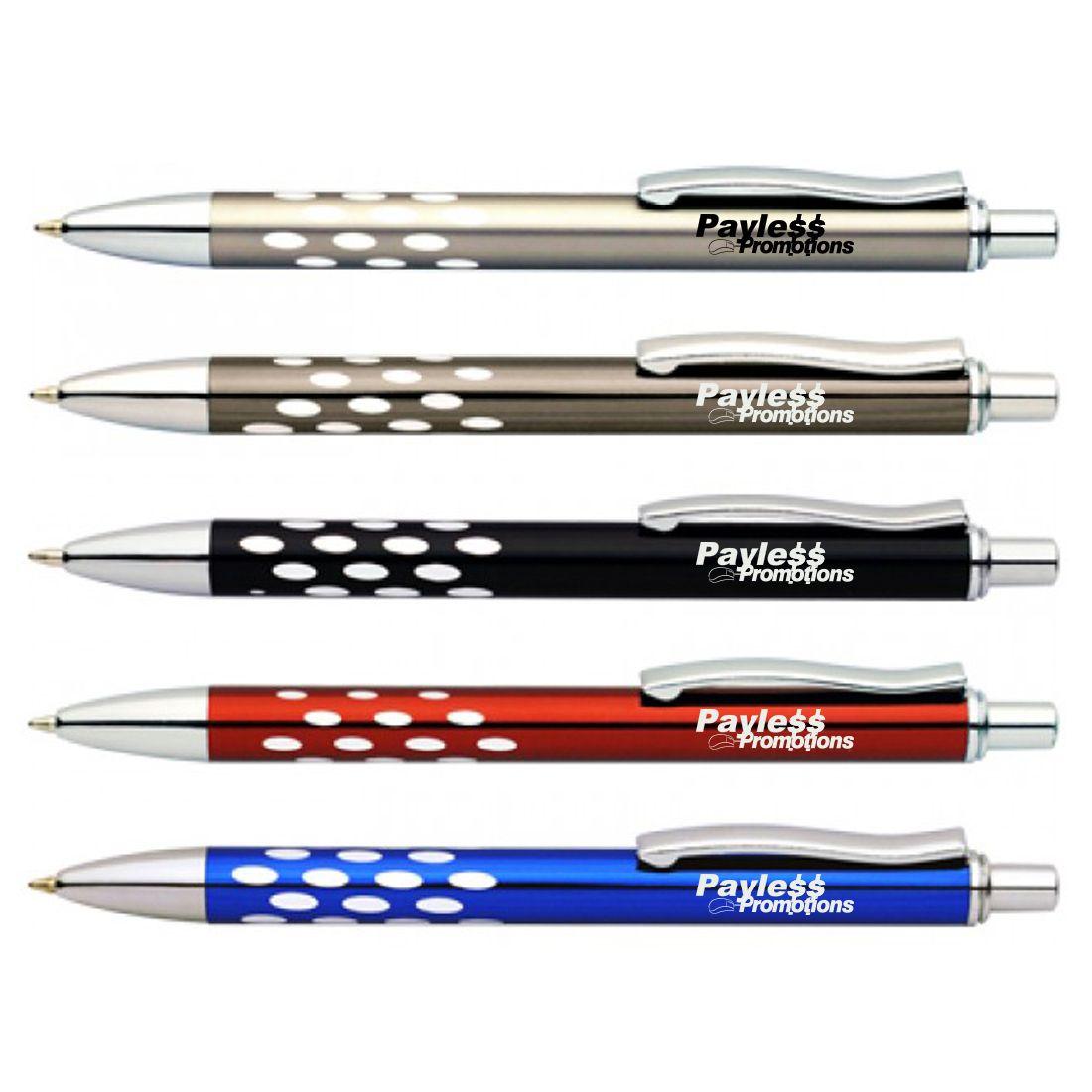 P224 Snowflake Metal Logo Pens