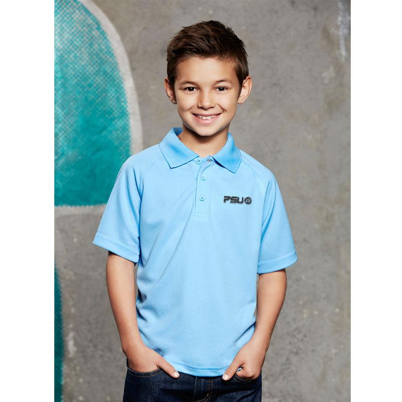 P300KS Kids Sprint CoolDry Branded Polos