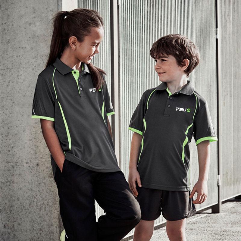 P405KS Kids Razor CoolDry Polo Shirts