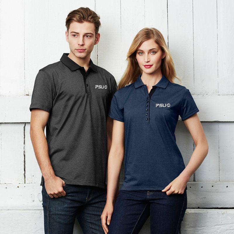 P501LS Ladies Shadow Polo Shirts