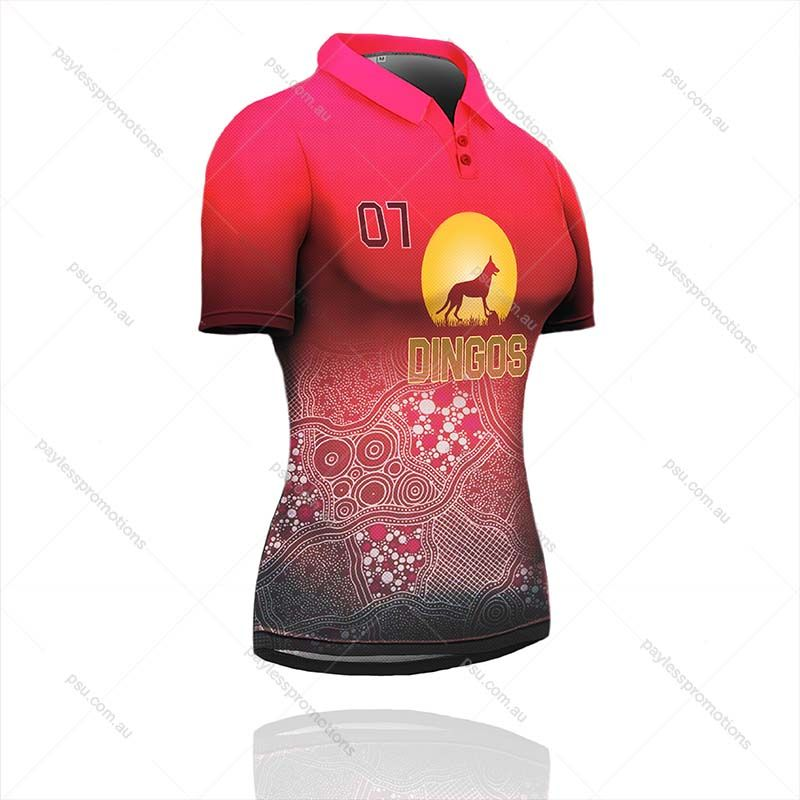 PS1-L Ladies Full-Custom Sublimation Polos - S Series