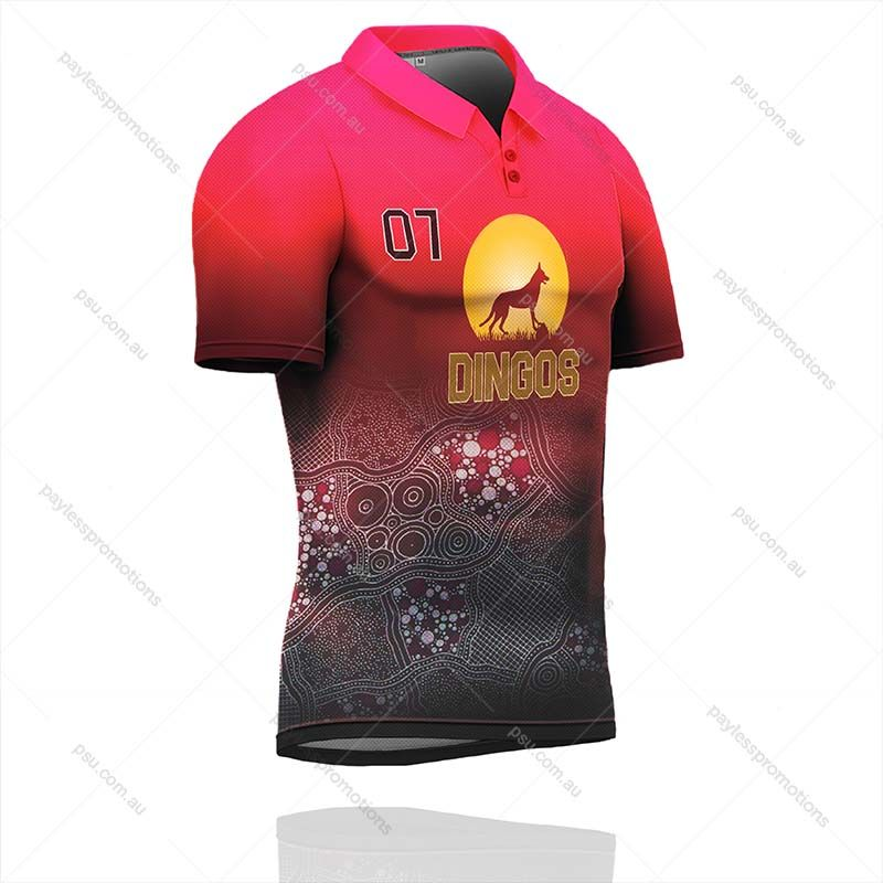 PS1-M Full-Custom Sublimation Polo Shirts - S Series