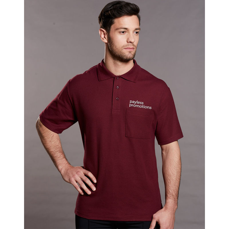 PS41 Unisex Traditional Poly/Cotton Uniform Polo Shirts With Pocket