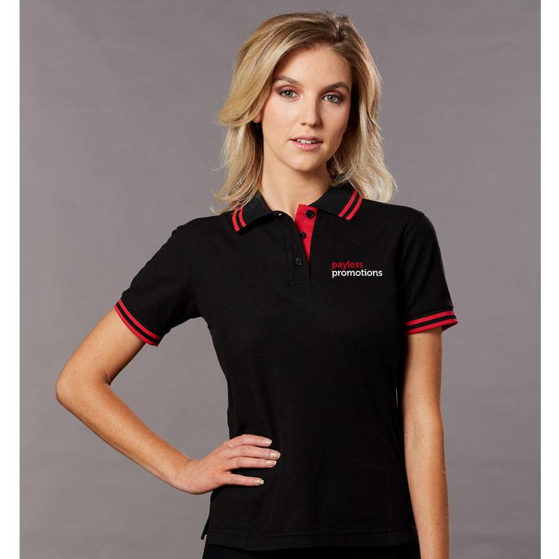 PS66 Ladies Grace TrueDry Polo Shirts