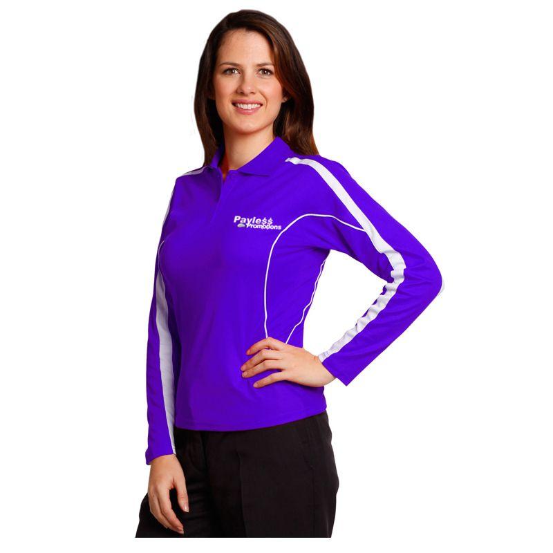 PS70 Ladies Legend TrueDry Long sleeve Polo Shirts
