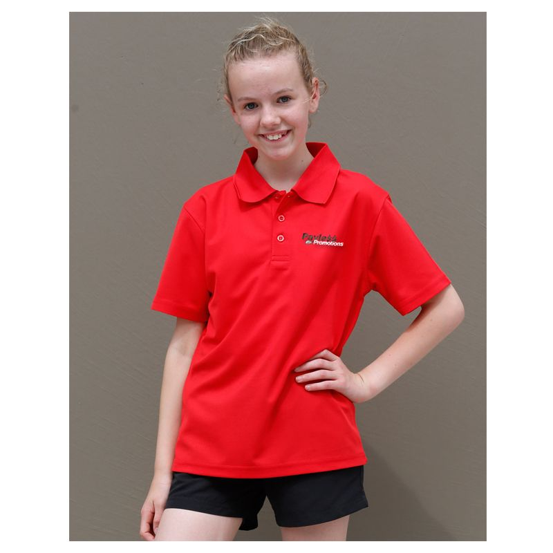 PS81K Kids Verve CoolDry Polo Shirts