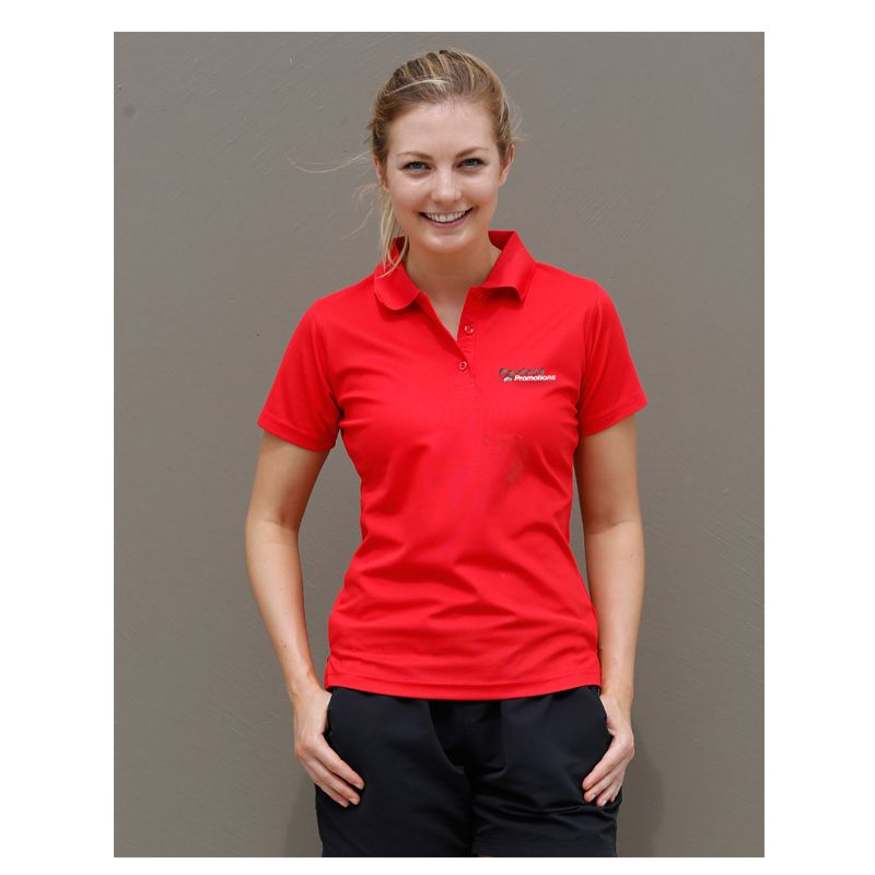 PS82 Ladies Verve CoolDry Polo Shirts