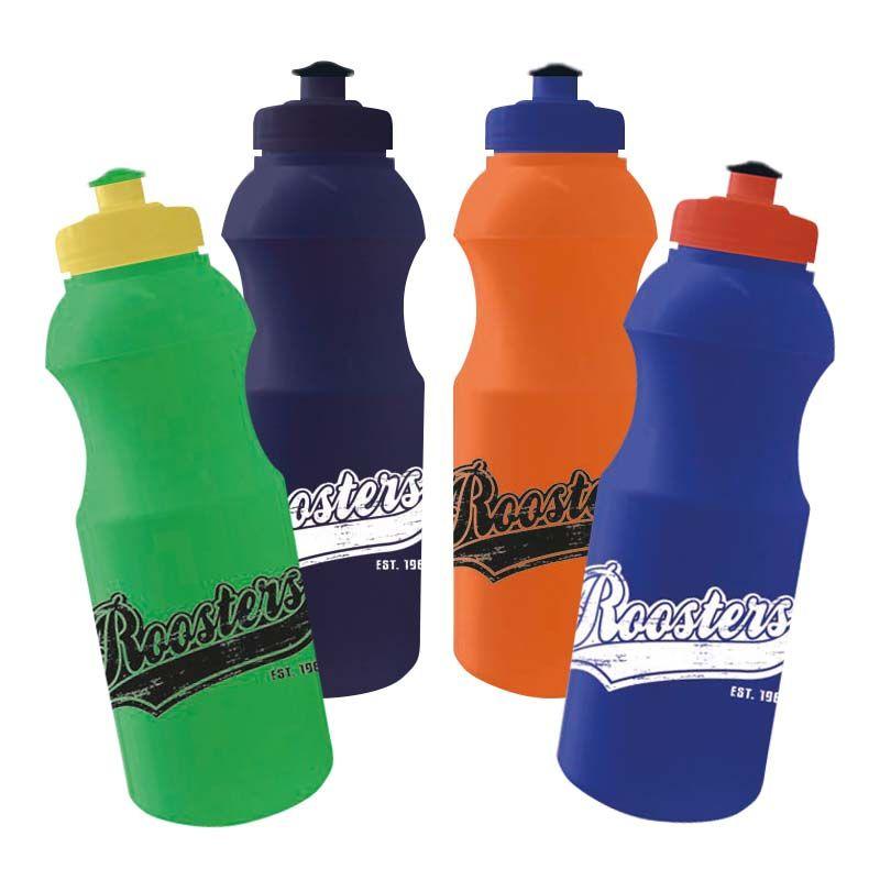 R600SS Retro Pop-Top Printed Drink Bottles - 600ml